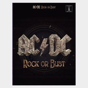 Tablatures guitare de l'album de AC/DC Rock or Bust. Partition et songbook