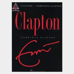 Tablatures guitare de la compilation de Eric Clapton Complete Clapton. Partition et songbook